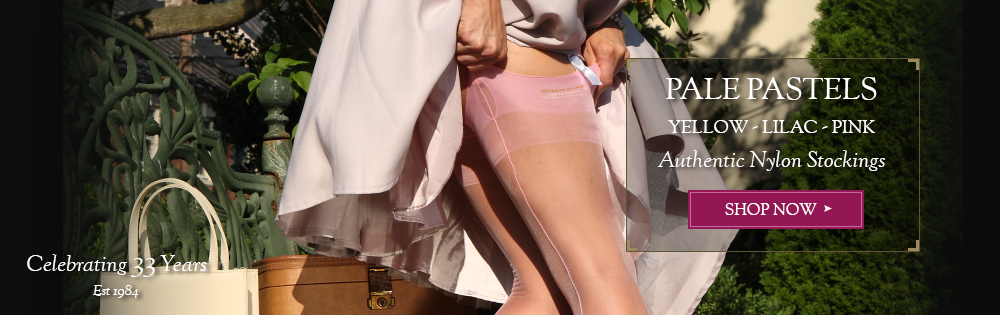 Spring Summer Pastel Stockings by Secrets In Lace