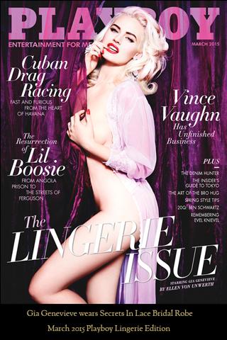 Playboy Cover Gia Genevieve