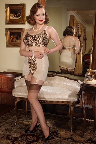 Leopard  OB Girdle