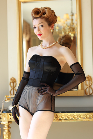 Sophisticated Strapless Longline