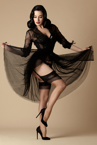 Dita Glamour French Heel